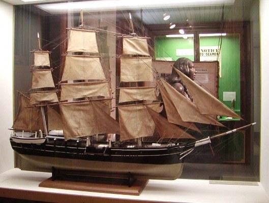 Как сделать модель парусного корабля