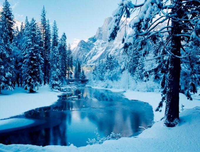 Как фотографировать зимний пейзаж