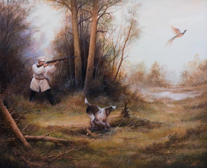 Как нарисовать охотника