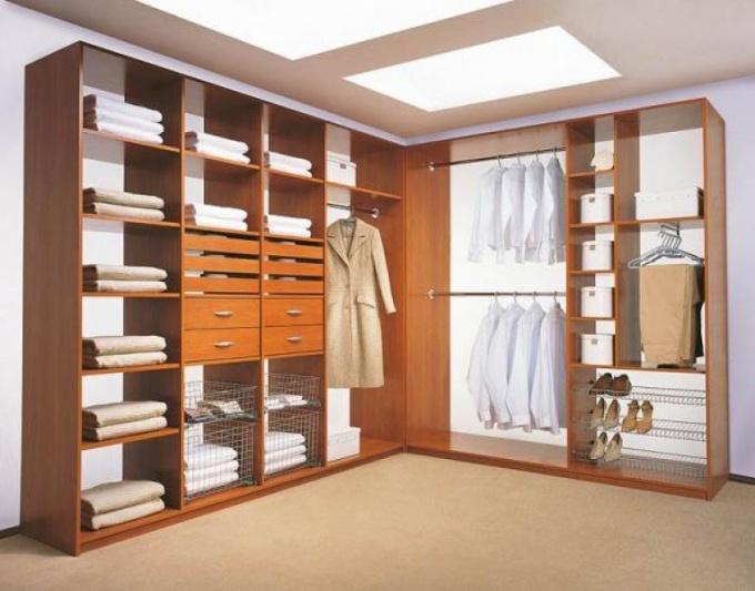 Как спроектировать гардеробную