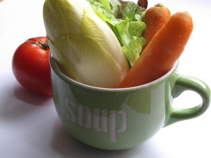 Как сварить диетический суп