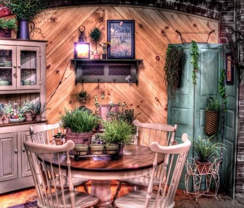 Используйте деревянную мебель
