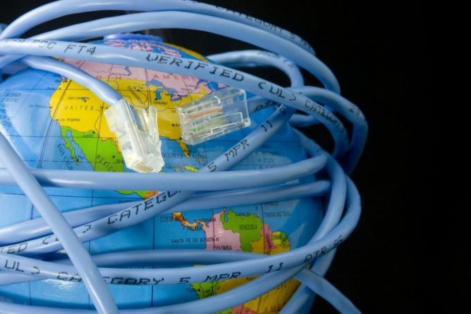 Как убрать шлюз интернета