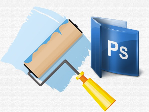 How to fill the background color in photoshop