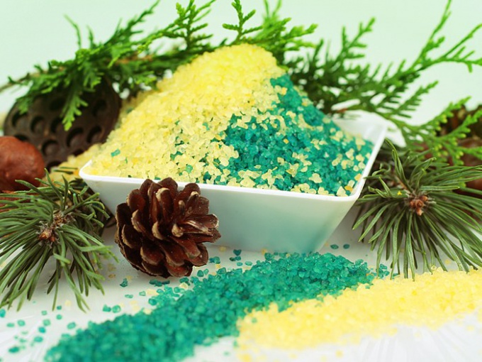 Как делать хвойно-солевые ванны