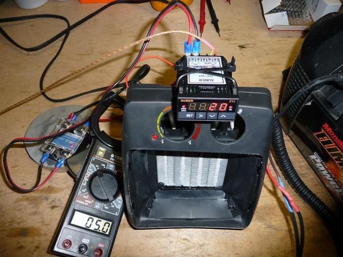 How to make a heater 12 volt