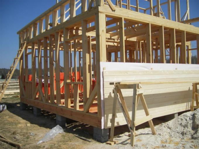 Как построить каркас стен