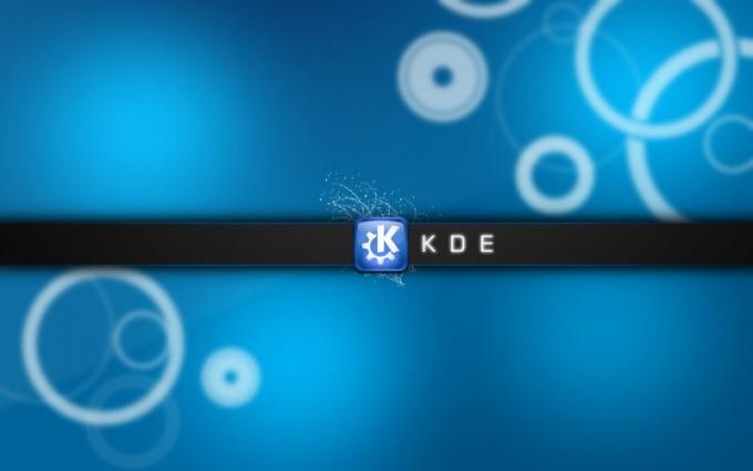 Как установить пакет KDE