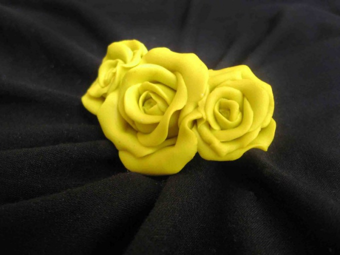 How to make a rose out of salt dough