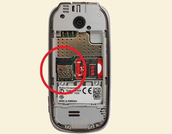 Как вставить карту памяти в телефон Nokia
