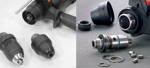 How to disassemble the hammer drill Bosch