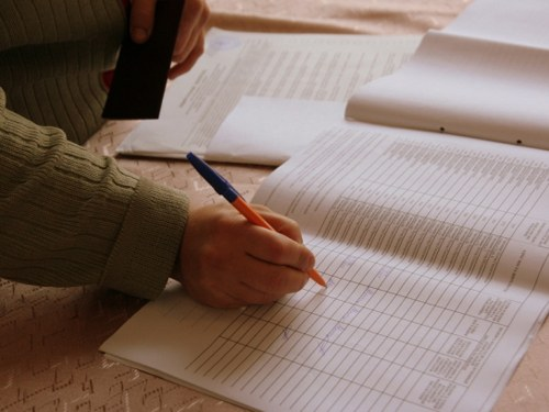 How to fill out the log sheets