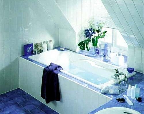 Как отделать ванну пластиком