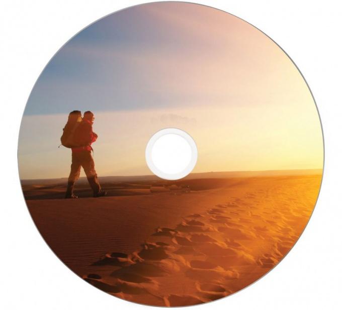 Как нанести рисунок на DVD