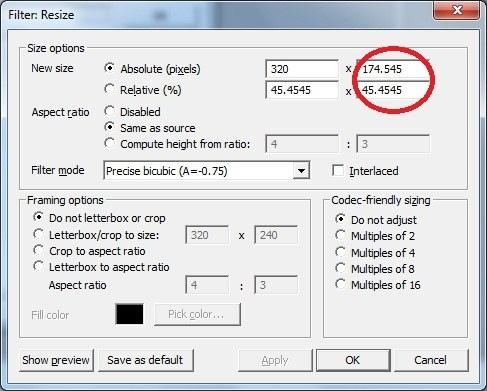 Как в Virtualdub сжать видео