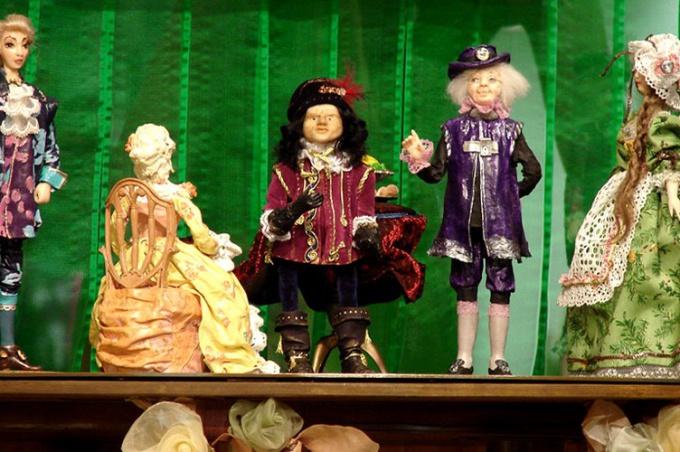 Как сделать декорации для кукольного театра