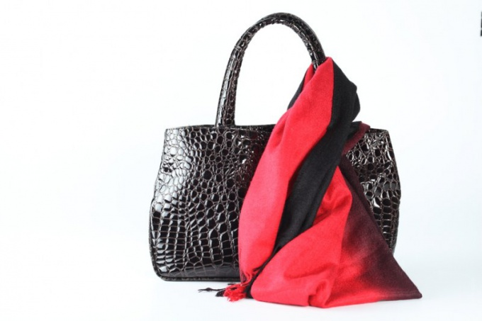 Как сшить кожаную сумку