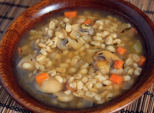 Как варить грибной суп с перловкой