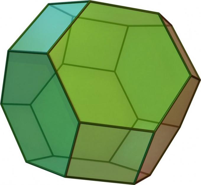 Как вычислить площадь грани