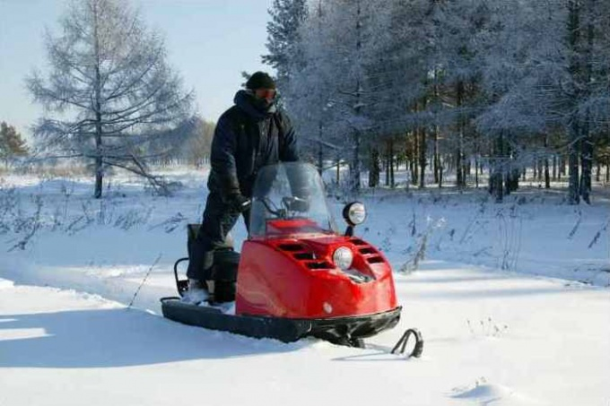 """How to register a snowmobile """"Buran"""""""