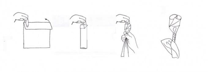 Как делать из <b>салфеток</b> <strong>фигурки</strong>