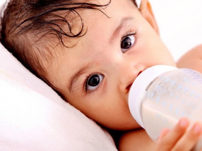 Как отучить от бутылочки на ночь