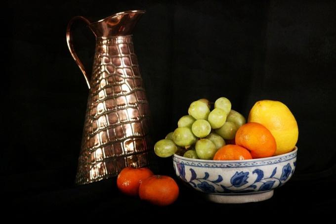 How to put beautiful fruits