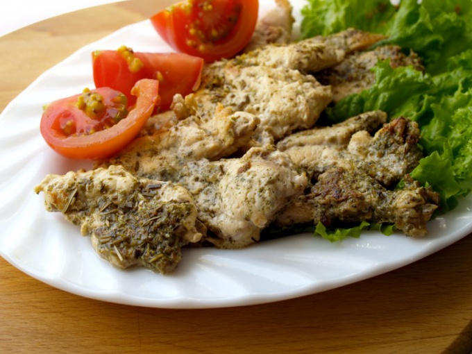 How delicious to cook chicken chops