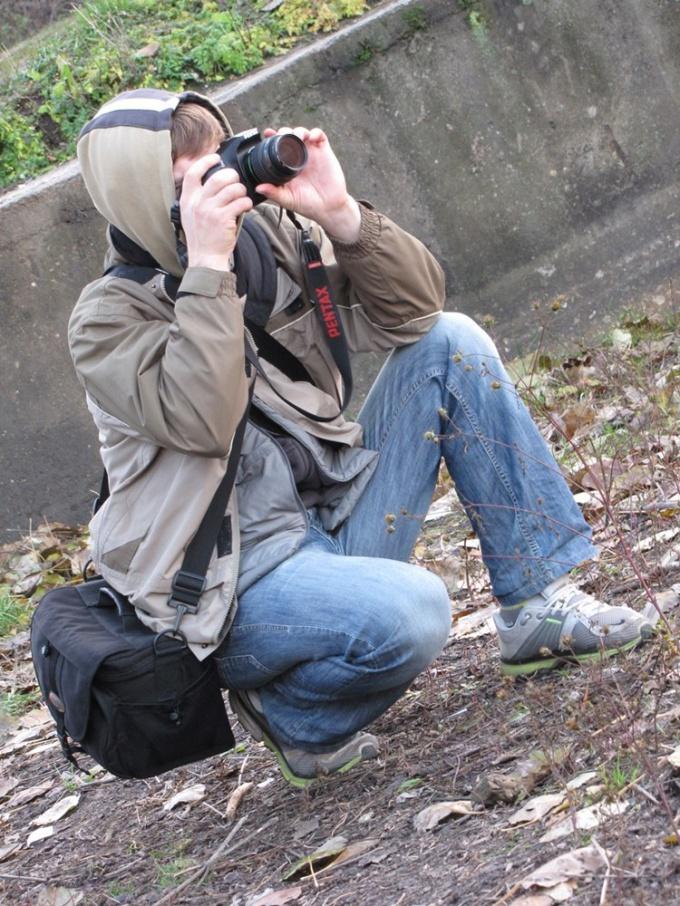Как включить фотоаппарат