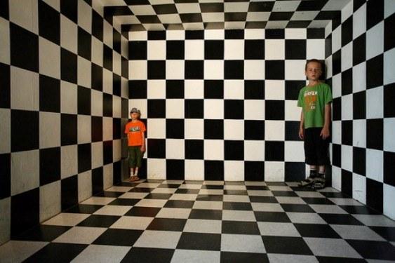 Как построить перспективу комнаты