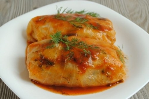 How delicious to cook cabbage rolls