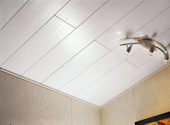 Как собрать пластиковые потолки