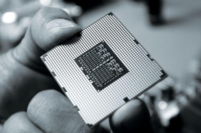 Как паять чип