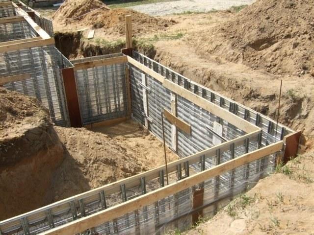 Как построить фундамент с подвалом