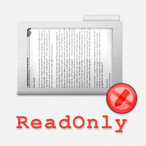 Как установить атрибут readonly