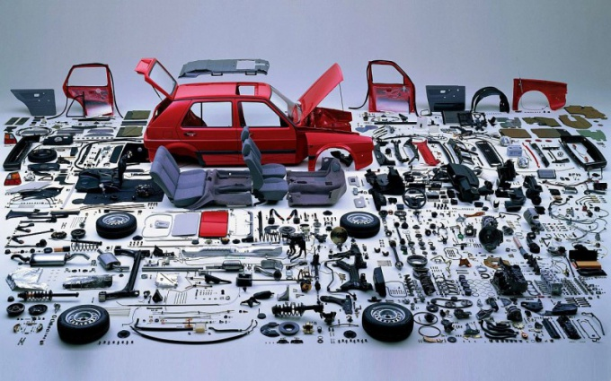 How to organize a business selling auto parts