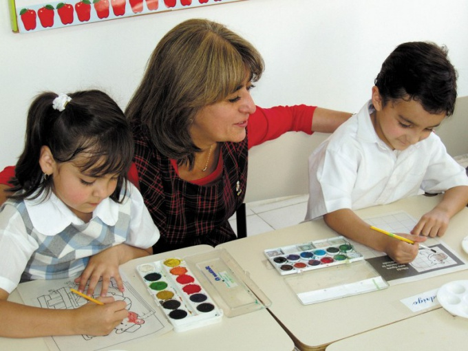How to enroll in kindergarten in St. Petersburg
