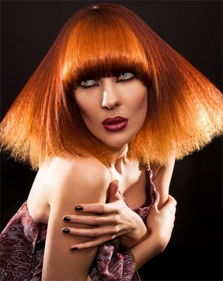 Как покрасить волосы в ярко-рыжий