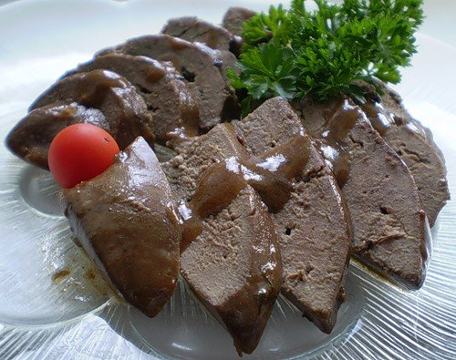 How to cook wild boar liver