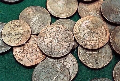 Как определить старинную монету
