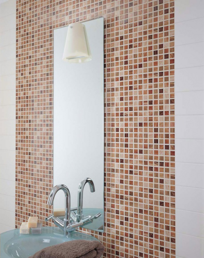 How to lay wall tiles