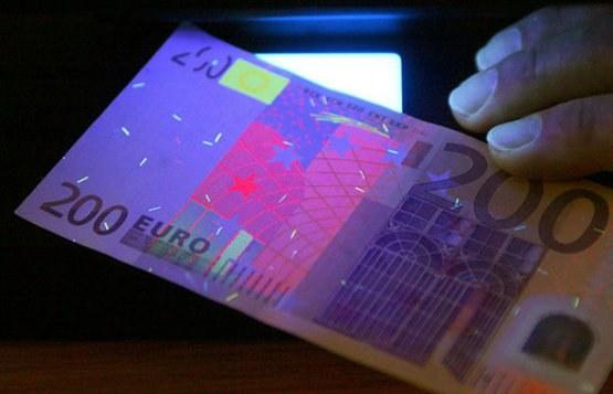 How to identify fake Euro