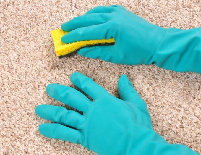 How to clean carpet hair