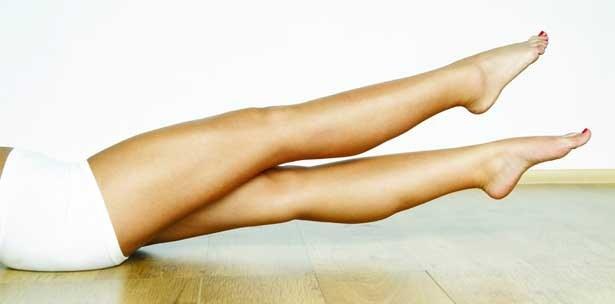 Как уменьшить обьем ног