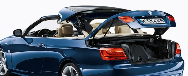 How to open trunk on BMW