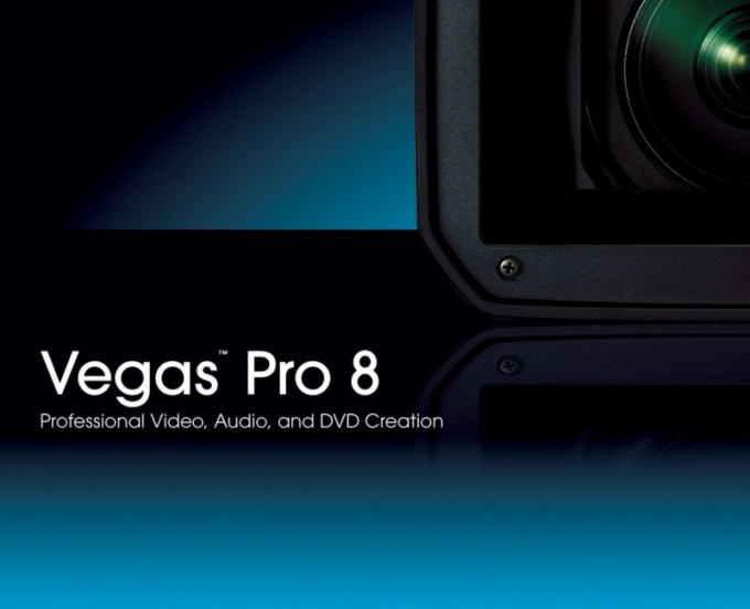 How to write a project in Sony Vegas