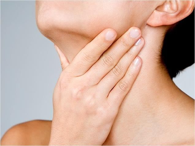 How to remove sore throat