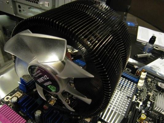 Как отсоединить кулер от процессора