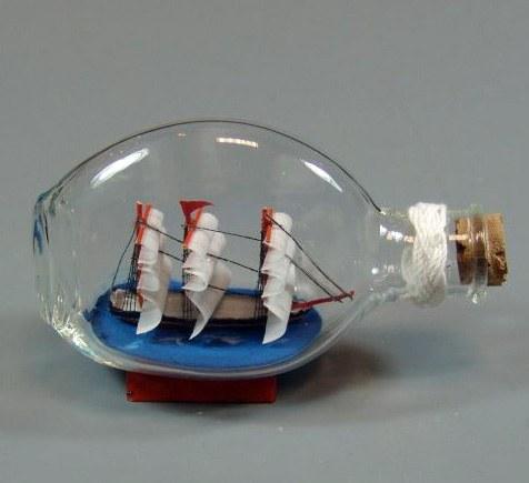 Как изготовить модель парусника