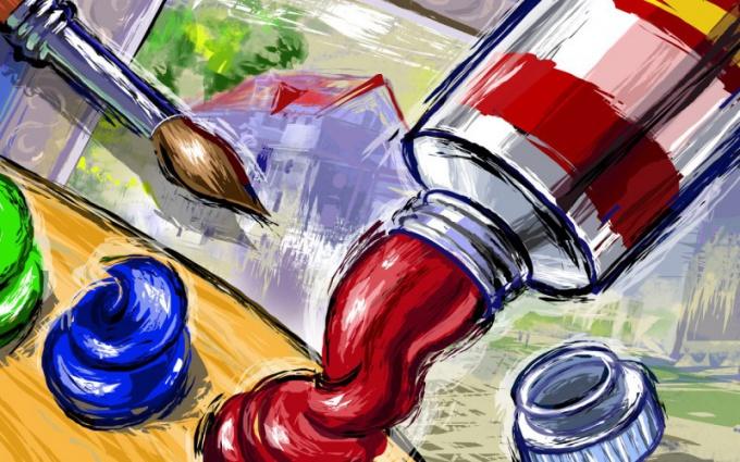 Как обучиться рисовать картины маслом